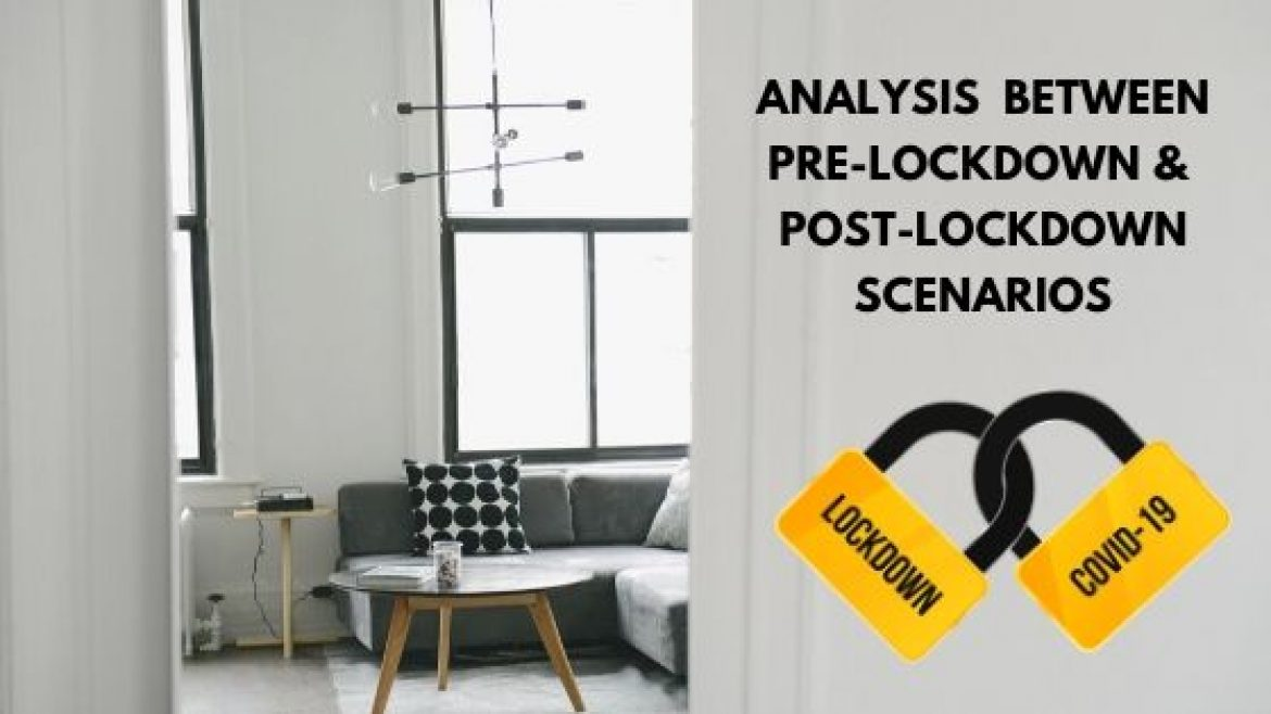 Analysis Between Pre-Lockdown & Post-Lockdown Scenarios